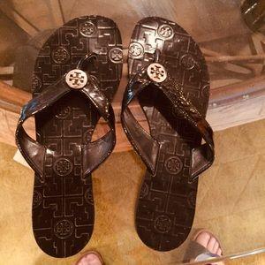 Tory Burch Flip Flop Sandals Size 9